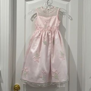Sweet Pink Princess Dress Girls Size 6